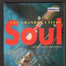 CDs de Música: LOS GRANDES ÉXITOS Nº 4 SOUL. CD-ROM + CD-AUDIO CD-VARIOS-351-3. Lote 211460991