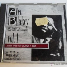CDs de Música: ART BLAKEY AND THE JAZZ MESSENGERS VOL 1 A DAY WITH ART BLAKEY 1961. Lote 40262873