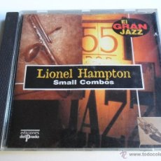 CDs de Música: LIONEL HAMPTON . SMALL COMBOS. Lote 40264094