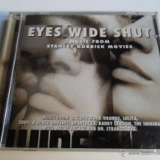 CDs de Música: EYES WIDE SHUT MUSIC FROM THE STANLEY KUBRICK MOVIES. Lote 40264463
