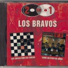 CDs de Música: LOS CHICOS CON LAS CHICAS/DAME UN POCO DE AMOR - LOS BRAVOS CD - RCA BMG 1998. Lote 40292086