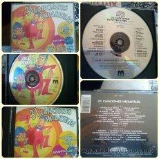CDs de Música: 31 CANCIONES INFANTILES 2 CD. Lote 40295333