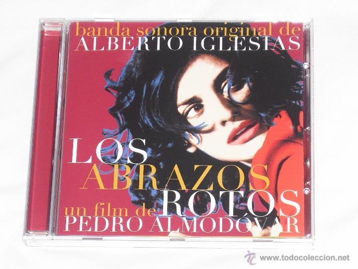 LOS ABRAZOS ROTOS-PEDRO ALMODOVAR (Música - CD's Pop)
