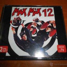 CDs de Música: MAX MIX 12 DOBLE CD ALBUM DEL AÑO 1992 ARTHUR MILES DAMIEN DJ ANDREW RAY K.W.S. CONTIENE 15 TEMAS. Lote 40342346