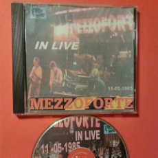 CDs de Música: MEZZOFORTE IN LIVE 1.985 MENFIS BERGA CATALUNYA DIRECTO DE MESA DE MEZCLAS. Lote 40376459