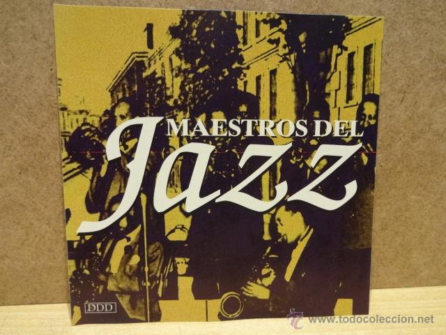 MAESTROS DEL JAZZ. CD - EL DORADO - 1995. 8 TEMAS. CALIDAD LUJO (Música - CD's Jazz, Blues, Soul y Gospel)