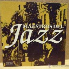 CDs de Música: MAESTROS DEL JAZZ. CD - EL DORADO - 1995. 8 TEMAS. CALIDAD LUJO. Lote 40378181