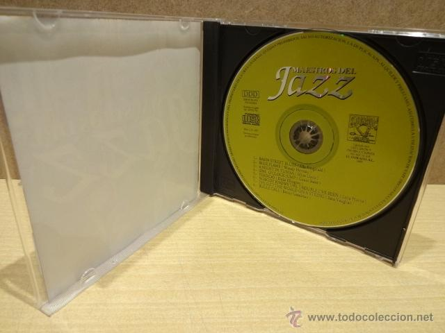 CDs de Música: MAESTROS DEL JAZZ. CD - EL DORADO - 1995. 8 TEMAS. CALIDAD LUJO - Foto 2 - 40378181