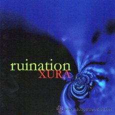 CDs de Música: RUINATION - XURA - CD 1999 - GOLDTRACK RECORDS - MELODIC METAL / DOOM / GOTHIC. Lote 237320000