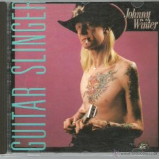 CDs de Música: CD JOHNNY WINTER - GUITAR SLINGER. Lote 40406314