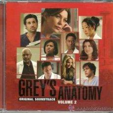 CDs de Música: GREY´S ANATOMY VOL.2 / VARIOS CD BSO. Lote 40411190