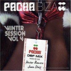 CDs de Música: 2 CD - PACHA IBIZA - WINTER SESSION VOL 4 - HECTOR ROMERO - JUAN DÍAZ - NUEVO Y PRECINTADO. Lote 40419336