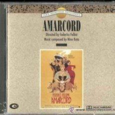 CDs de Música: AMARCORD / NINO ROTA CD BSO. Lote 40433112