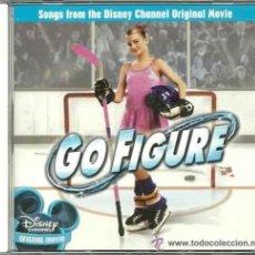 CDs de Música: GO FIGURE (SONGS DISNEY CHANNEL) / VARIOS CD BSO. Lote 40433651