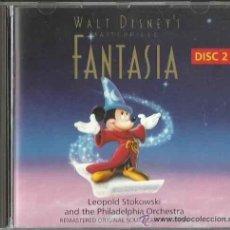 CDs de Música: FANTASIA (DISNEY) VOL. 2 / LEOPOLD STOKOWSKI CD BSO. Lote 40433837