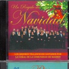 CDs de Música: VILLANCICOS: CORAL COMUNIDAD DE MADRID Y CORAL POLIFÓNICA DE CÁDIZ (2 CD´S). Lote 40443335