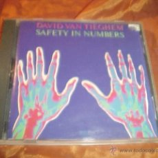 CDs de Música: DAVID VAN TIEGHEM. SAFETY IN NUMBERS. CD USA. IMPECABLE (#). Lote 40447262