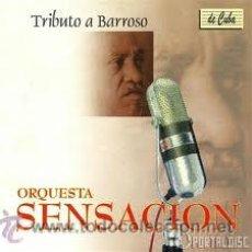 CDs de Música - CD ORQUESTA SENSACION -.TRIBUTO A BARROSO - 40448013