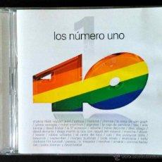 CDs de Música: LOS NÚMERO UNO DE LOS 40 PRINCIPALES: SHAKIRA, MELENDI,MIKEL ERENTXUN,ANA TORROJA... DOBLE CD,2 CD'S. Lote 233630920