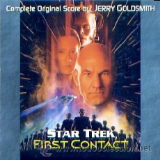 CDs de Música: B.S.O. ORIGINAL * STAR TREK: FIRST CONTACT * (30 TRACKS/SCORE COMPLETO). JERRY GOLDSMITH. NUEVA.. Lote 25333009