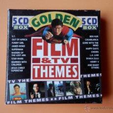 CDs de Música: GOLDEN FILM & TV THEMES - DIVERSOS AUTORES. Lote 35850264
