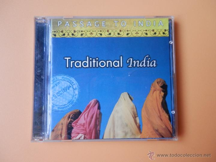 TRADITIONAL INDIA. PASSAGE TO INDIA - DIVERSOS AUTORES (Música - CD's World Music)