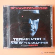 CDs de Música: TERMINATOR 3. ORIGINAL MOTION PICTURE SOUNDTRACK - MUSIC COMPOSED BY MARCO BELTRAMI. Lote 35850439
