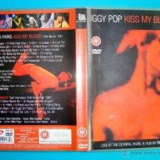 CDs de Música: DVD IGGY POP KISS MY BLOOD. Lote 40510328