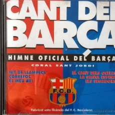 CDs de Música: BARÇA- CANT DEL BARÇA-HIMNO OFICIAL DEL BARÇA Y MUCHOS MÁS TEMAS-CORAL SANT JORDI, ELECTRICA DHARMA.. Lote 40526575