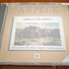 CDs de Música: CD - ARIAS CÉLEBRES.ARPÈGE. DIRECTOR:KLAUS-PETER MODEST, ORQUESTA:CAPELLA ISTROPOLITANA. ARPEGIO.. Lote 40539875