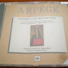 CDs de Música: LUDWIG VAN BEETHOVEN. CONCIERTO PARA VIOLIN EN RE MAYOR OP. 61 Y PARA PIANO Y ORQUESTA NUM. 2 OP. 19. Lote 40539876