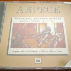CDs de Música: WOLFGANG AMADEUS MOZART. SINFONÍA NUM. 35 (HAFFNER) Y NUM. 38 (PRAGA). ARPÈGE. RECORDS.. Lote 40541837