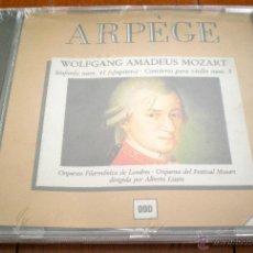 CDs de Música: CD - WOLFGANG AMADEUS MOZART. SINFONÍA NUM. 41 (JUPITER) . CONCIERTO PARA VIOLÍN NUM. 3. ARPÈGERE.. Lote 40542077