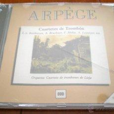 CDs de Música: CUARTETOS DE TROMBÓN. L. V. BEETHOVEN, A. BRUCKNER, F. HIDAS, A. LEONTYEV ETC. LIEJA. ARPÈGE,RECORDS. Lote 40545468