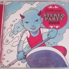 CDs de Música: SUBTERFUGE - STEREO PARTY 2008 - CD 16 TEMAS - LOS RONALDOS KRAKOVIA TULSA PRECINTADO. Lote 40554452