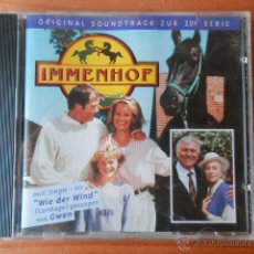 CDs de Música: IMMENHOF. ORIGINAL SOUNDTRACK ZUR ZDF SERIE - MUSIK: ROBERT SHULTE HEMMING/JENS LANGBEIN. Lote 39623851