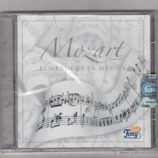 CDs de Música: MOZART EL GENIO DE LA MUSICA - NUEVO SIN DESPRECINTAR Y CON SELLO DISCOGRAFICA. Lote 40190310