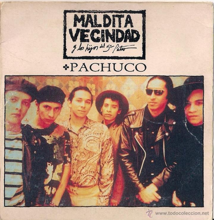PACHUCO/SOLIN - MALDITA VECINDAD Y LOS HIJOS DEL 5º PATIO. - CD SINGLE 1992 BMG ARIOLA (Música - CD's Rock)