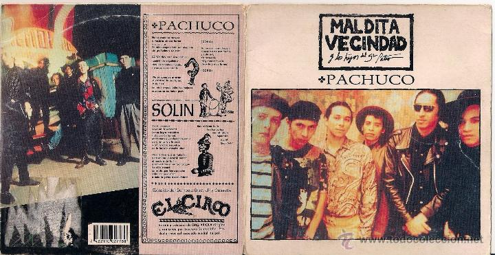 CDs de Música: Pachuco/Solin - Maldita Vecindad y los hijos del 5º patio. - CD single 1992 BMG Ariola - Foto 2 - 40639662