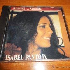 CDs de Música: ISABEL PANTOJA AMANTE ... AMANTE AÑO 1981 CD ALBUM DEL AÑO 1990 RARO EN CD POCAS COPIAS NUEVO. Lote 40660815