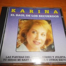 CDs de Música: KARINA EL BAUL DE LOS RECUERDOS CD ALBUM DEL AÑO 1994 MUY RARO EN CD POCAS COPIAS CONTIENE 12 TEMAS. Lote 40662972