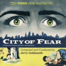 CDs de Música: CITY OF FEAR / JERRY GOLDSMITH CD BSO - INTRADA. Lote 48842217
