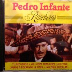 CDs de Música: PEDRO INFANTE: RANCHERAS- 20 TEMAS- DIVUCSA 1990. Lote 40701054