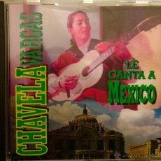 CDs de Música: CHAVELA VARGAS LE CANTA A MÉXICO-MACORINA -ORFEON 1995-MÉXICO. Lote 40702004
