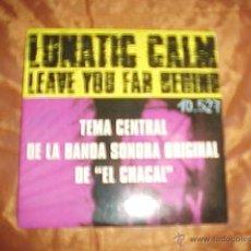 CDs de Música: LUNATIC CALM. LEAVE YOU FAR BEHIND. TEMA CENTRAL BSO EL CHACAL. CD PROMOCIONAL. Lote 40710064