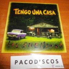 CDs de Música: LOS ENEMIGOS TENGO UNA CASA BANDA SONORA PELICULA CD DEL AÑO 1996 DE CARTON 19 TEMAS JOSELE SANTIAGO. Lote 194265477