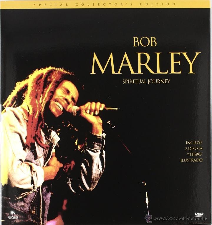 DVD+CD +LIBRO ILUSTRADO - BOB MARLEY- SPIRITUAL JOURNEY -NUEVO PRECINTADO (Música - CD's Reggae)