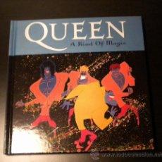 CDs de Música: QUEEN ( A KIND OF MAGIC ) CD-BOOK LIBRETO Y CD. Lote 40728056
