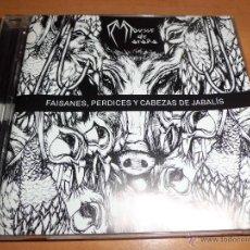 CDs de Música: MOUSSE DE ARAÑA - FAISANES,PERDICES Y CABEZAS DE JABALÍ RARO Y DIFICIL. Lote 40743804