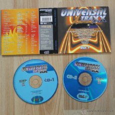 CDs de Música: UNIVERSAL TRAXX VOL 1 DIGIPACK 2 CD. Lote 40757138